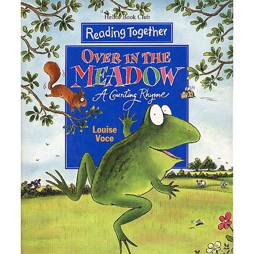 【Reading Together】Over in the Meadow--A Counting Rhyme(1Book + 1CD)