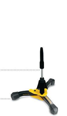 【金聲樂器廣場】 全新 HERCULES DS640B 豎笛架 / 長笛架 (附收納袋)