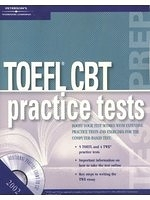 二手書博民逛書店 《TOEFL CBT:Practice Tests(書+CDR)》 R2Y ISBN:0768907772│Peterson s