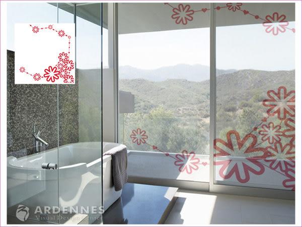 【ARDENNES】防水壁貼 壁紙 牆貼 / 磨砂面 亮面 / 玻璃透明貼紙 GS-029