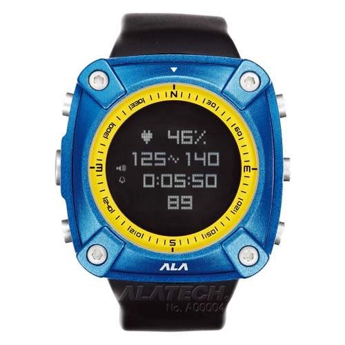 ALATECH 新版 OP100 專業 心率錶 登山錶 - 寶石藍