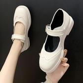 娃娃鞋 復古小皮鞋女日系新款軟妹學生一字扣瑪麗珍淺口單鞋 - 古梵希