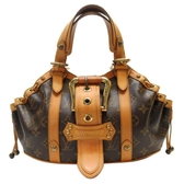 LOUIS VUITTON LV 路易威登 原花荷葉邊手提走秀包 Theda PM M92399【BRAND OFF】