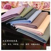 手工制素色純棉水洗棉手絹LYH3525【大尺碼女王】
