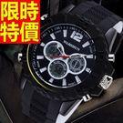 運動手錶-防水細緻休閒電子腕錶5色61a...