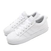 adidas 休閒鞋 Bravada 白 全白 女鞋 滑板鞋 基本款 帆布鞋面 運動鞋 【ACS】 FV8099