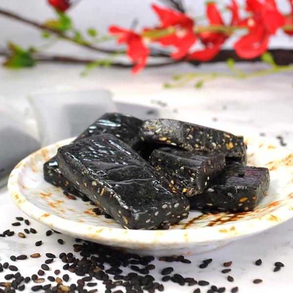 養生黑芝麻糕 125g 愛家純素茶食甜點 香Q順口不黏牙 全素零食 營養豐富 素食可用