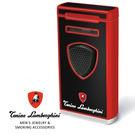 義大利 藍寶堅尼精品 - 附雪茄圓剪 PERGUSA LIGHTER 打火機(經典紅黑色) ★ Tonino Lamborghini 原廠進口