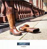 冬特惠...義大利 STONEFLY EMY 4 艾咪帥氣舒適個性長靴103411 322雪茄色 UK36~39