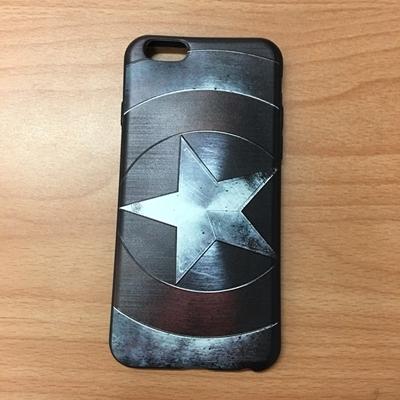 【世明國際】iPhone 6/6+/6s/6s+ 手機殼 中指 骷顱頭 超人 海賊 漫威 美國隊長 超人浮雕 星球 保護套