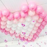 派對裝飾 婚慶婚房布置氣球裝飾結婚浪漫寶寶周歲生日派對氣球雨絲吊墜 伊蒂斯女裝