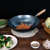 鑄鐵鍋 鐵鍋炒鍋熟鐵家用炒菜不粘燃氣爐適用煤氣灶專用 有緣生活館