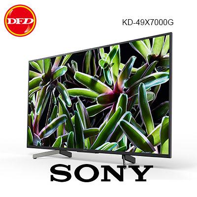 贈基本安裝 SONY 索尼 KD-49X7000G 49吋 智能液晶電視 超薄背光 4K HDR 公貨 49X7000G