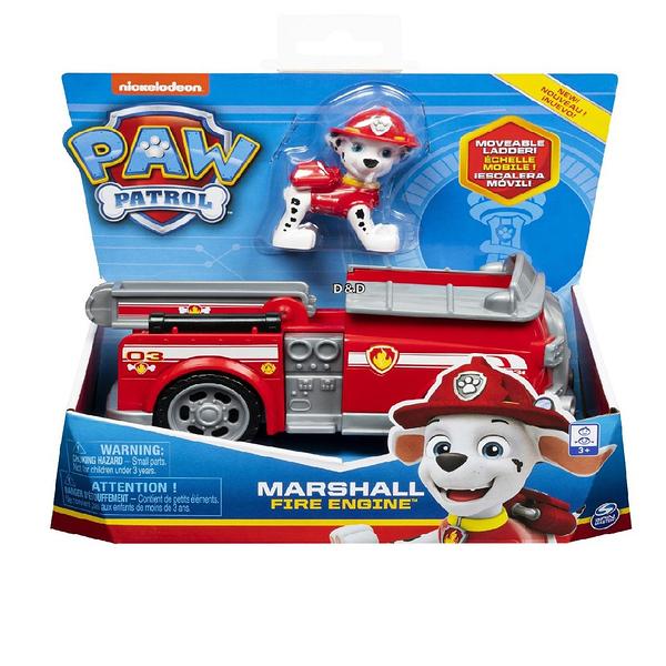 《 汪汪隊立大功 paw patrol 》基本車輛4 - 毛毛(紅)  ╭★ JOYBUS玩具百貨