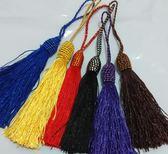 10mm帽子頭鬚鬚流蘇吊繩吊飾批發(單條)多色選