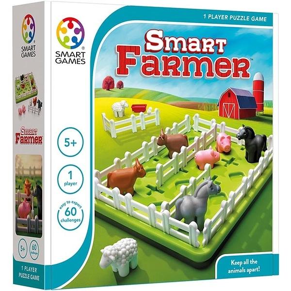 【比利時 SMART GAMES 桌遊】動物農場 N26516