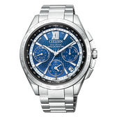 CITIZEN 星辰 限量款光動能GPS衛星對時錶鈦金屬腕錶CC9010-66L