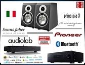 『盛昱音響』 Pioneer SX-10AE(B) / Audiolab 6000N Play / Sonus Faber Principia 3