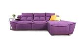 【歐雅系統家具】丹尼爾L型沙發-進口貓抓布/ 沙發 / 布沙發 /三人沙發 / 獨立筒坐墊