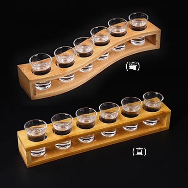 原點居家 六孔竹製子彈杯杯架 兩款任選