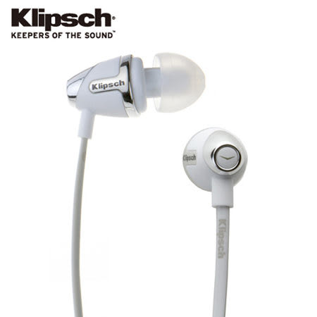 古力奇 Klipsch Image S4 II [最新版二代] 耳道式耳機 白色 [My Ear 台中耳機專賣店]