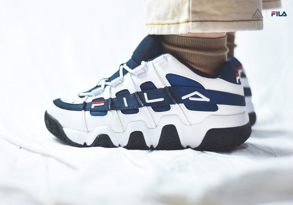 ISNEAKERS FILA Barricade XT 97 Low 老爹鞋 深藍 藍白 FS1HTB1054X WNV
