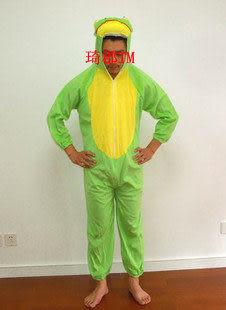 COS服裝卡通動物 青蛙衣服