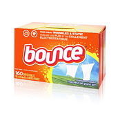 【one more】美國代購 100%正品 Bounce 戶外清香烘衣紙 去靜電紙 橘盒 160張