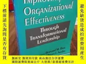 二手書博民逛書店Improving罕見Organizational Effect