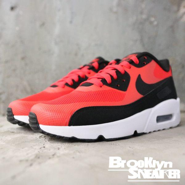 Nike AIR MAX 90 ULTRA 2.0 (GS) 紅黑 慢跑 女生 (布魯克林) 869950-800
