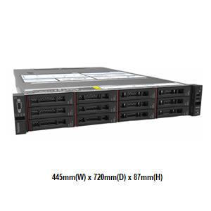 Lenovo SR550 7X04A02FCN 2U機架式伺服器【Intel Xeon Silver 4110 8C / 16GB / Raid 930-16i + 4G Flash】(3.5吋)