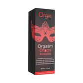 按摩油 潤滑液  葡萄牙Orgasm Drops Kissable 加強私密保養凝膠 30ml