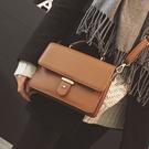 斜背迷你小包包新款鏈條包小方包簡約側背手提包