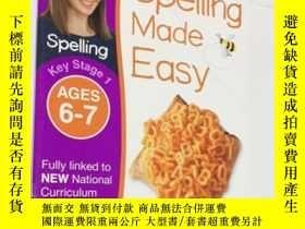 二手書博民逛書店DK出版兒童英語拼寫入門系列罕見Spelling Made Easy Ages 6-7 Key Stage 1 英