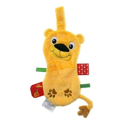 【出清優惠】比利時LABEL LABEL 奶嘴鏈安撫巾 - 假日系列 - 獅子(戒奶嘴及長牙的好幫手)