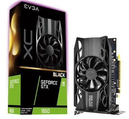 EVGA GTX 1650 XC BLACK (04G-P4-1151-KR)【刷卡含稅價】