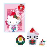 【日本KAWADA河田】Nanoblock迷你積木-Hello Kitty凱蒂貓 聖誕禮物 NBGC-001