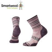 【美國 SmartWool 女Phd戶外輕量避震印花中筒襪 《木攻粉》】SW000766/保暖/戶外/運動襪