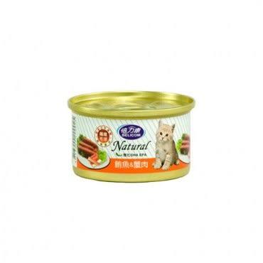 BELICOM 倍力康 化毛貓 鮪魚+蟹肉 貓罐80G x 24入