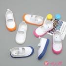 兒童帆布鞋 南鷺男女童網紅小白鞋新款兒童白色帆布鞋幼兒園學生單鞋日系白鞋 小天使