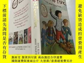 二手書博民逛書店the罕見famous five run away together:著名的五人一起出走:Y200392