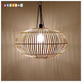 DecoBox中國風原色竹燈罩(46公分-1個)-不含燈泡線材(插花,花器)