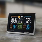 La Crosse Technology 室內戶外天氣觀測 溫度濕度計 Color LCD Wireless Weather Station