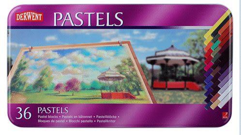 英國Derwent Pastel Pencils系列36色彩色粉彩筆*36005