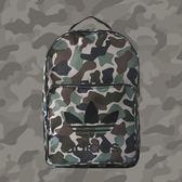 【現貨折後880】CLASSICK adidas ORIGINALS 軍綠 迷彩 印花 LOGO 肩背 背包 後背包 書包 BQ6084