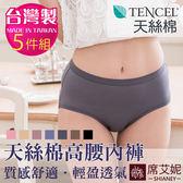 女性高腰褲 TENCEL纖維 天絲棉 微笑MIT台灣製 No.8865 (5件組)-席艾妮SHIANEY