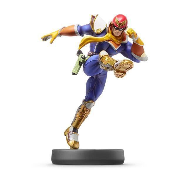 Wii U 任天堂明星大亂鬥 近距離無線連線 NFC 連動人偶玩具 amiibo 獵鷹 法爾康隊長【玩樂小熊】
