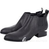 Alexander Wang 缺角低跟踝靴(黑色) 1541005-01