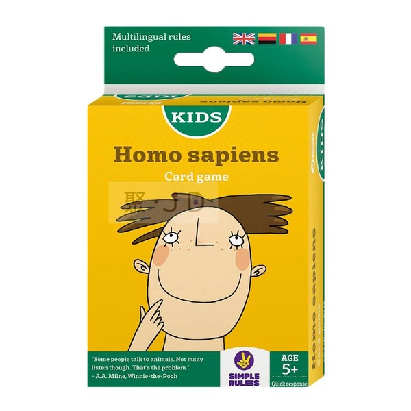 【樂桌遊】兒童數學桌遊 - 430415 智人 Homo Sapiens
