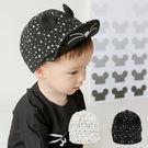 韓國小貓立體軟簷鴨舌帽 童帽 棒球帽 動物帽 遮陽帽